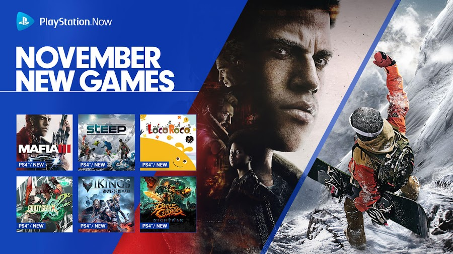 playstation now mafia 3 battle chasers nightwar ps4