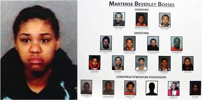 Presunta pandillera dominicana arrestada junto a otros 17 por cargos de conspiración para asesinar y armas