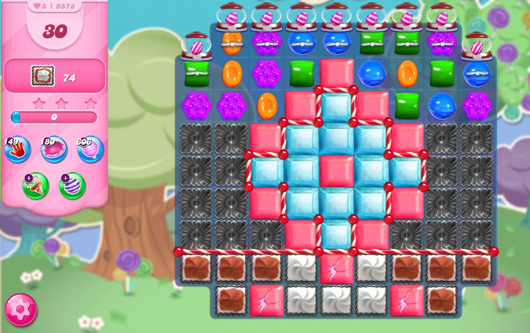 Candy Crush Saga level 6578