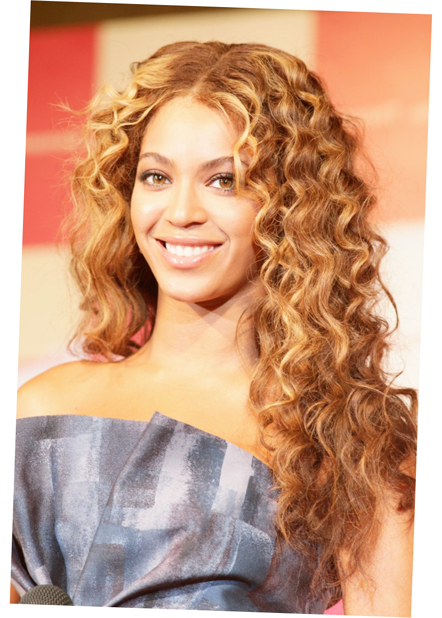 Beyonce Long Curly Hairstyle and Different Hair Styles for Long Hair Picture