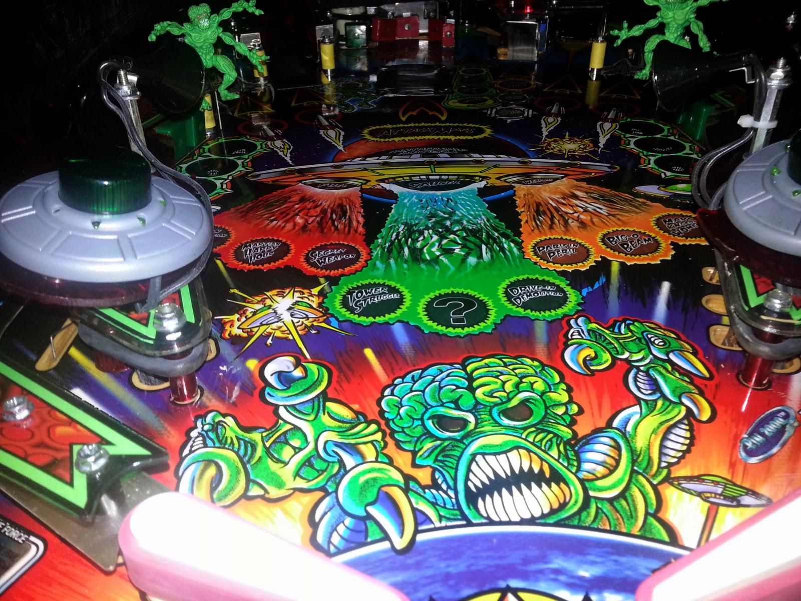 so I bought a pinball machine: Introducing... Revenge From ...
