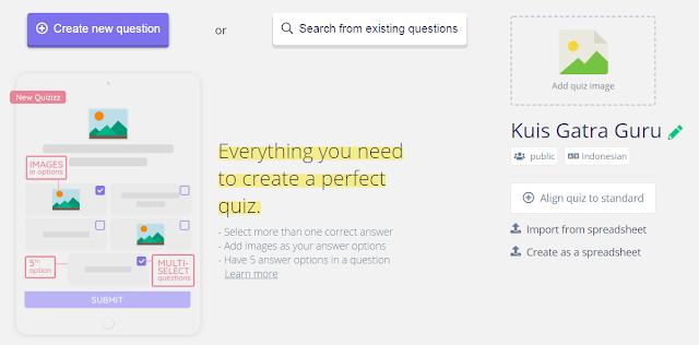 Membuat Kuis Online Dengan Quizizz Com Sma Negeri 1 Sukaresmi
