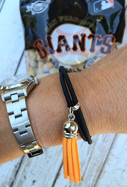 San Francisco Giants Bracelet - www.jacolynmurphy.com