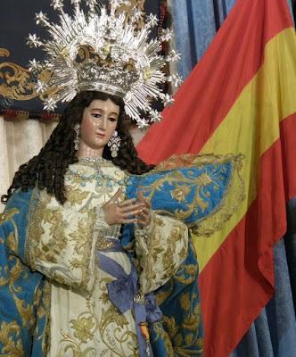 Resultado de imagen de virgen maria españa