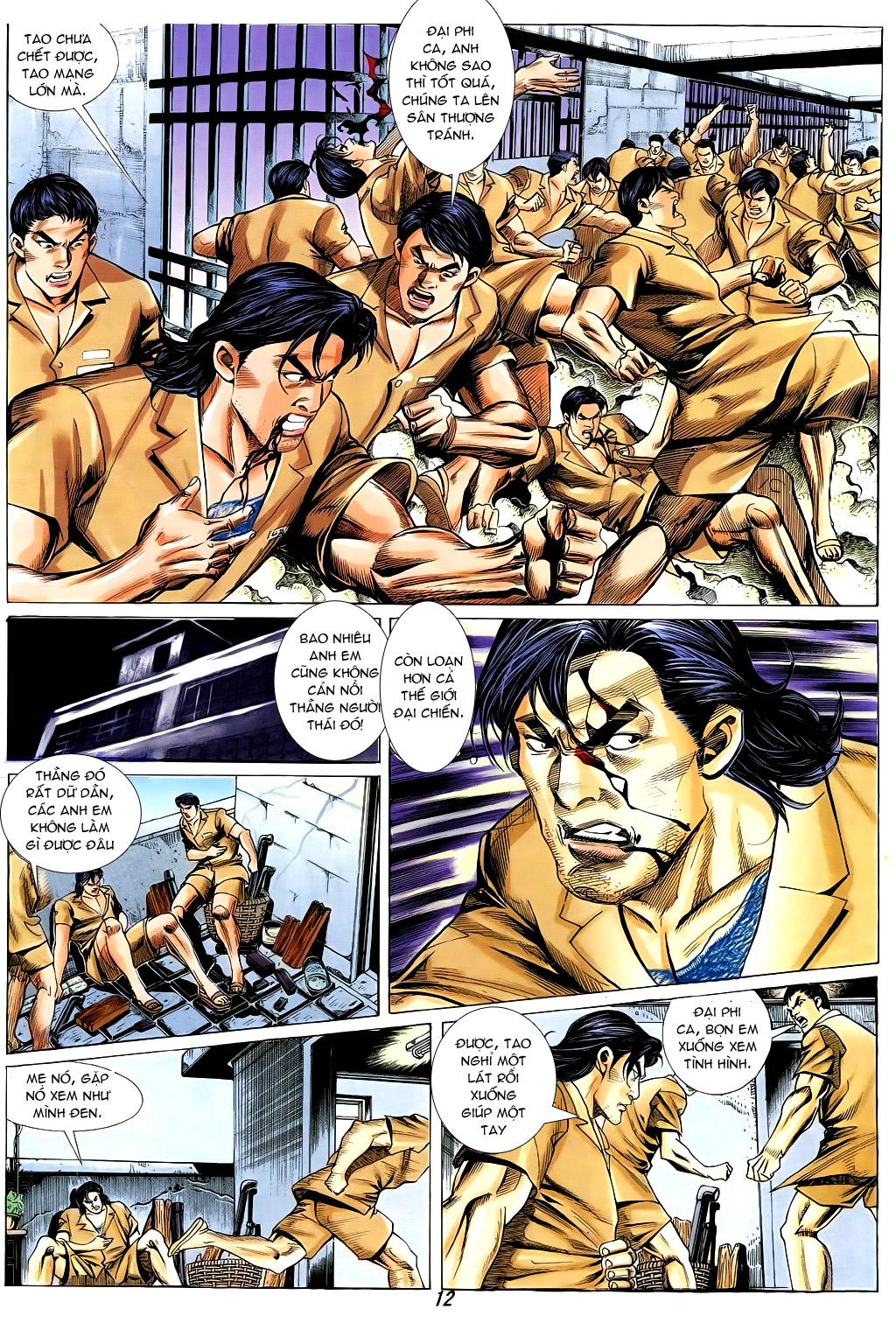 Người Trong Giang Hồ chapter 328 trang 11