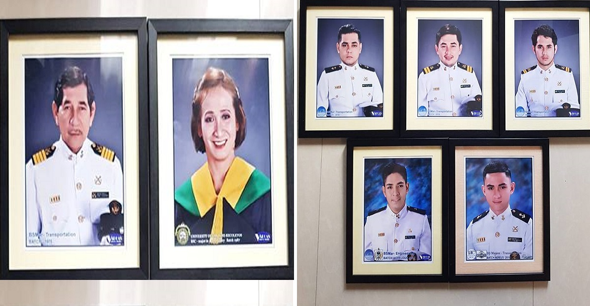 Like father, like sons: Seafarers wow with inspiring #FamilyGoals story