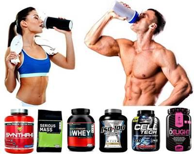 Sigue tomando tu batido de proteínas mientras estés entrenando