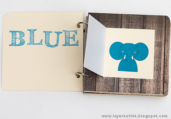 Layers of ink - Happy Colors Board Book Tutorial by Anna-Karin Evaldsson with SSS Friends release