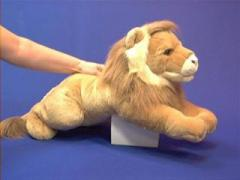 large lion plush stuffed animal toy