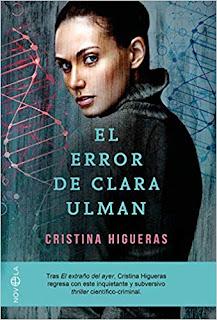 Novedades literarias de Octubre 2018 El error de clara ulman