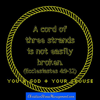 A threefold cord is not easily broken. (Ecclesiastes 4:12)