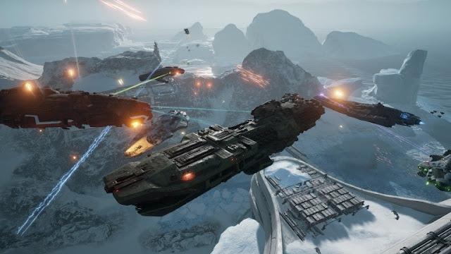 اللعبة التنافسية Dreadnought تصدر إبتداء من اليوم بنسختها النهائية على جهاز PS4