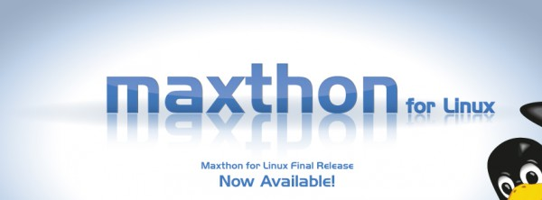 """software browsing yang disarankan di linux """" maxthon """""""