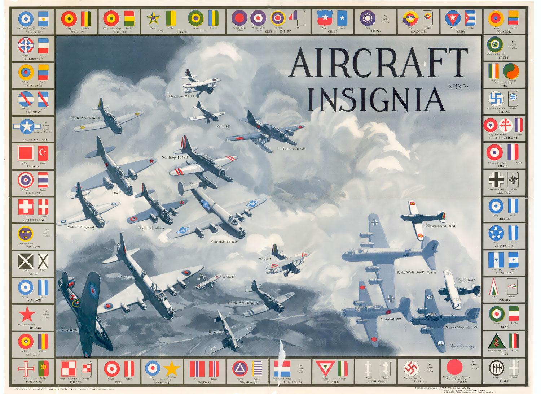 Distintius dels avions de la segona guerra mundial
