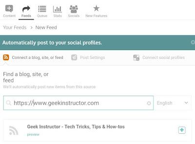 Add blog RSS feed