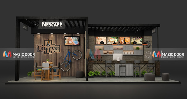 Mazicdoor Coffee Shop Stall Design 1