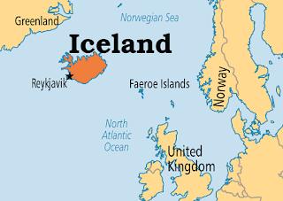 peta Islandia