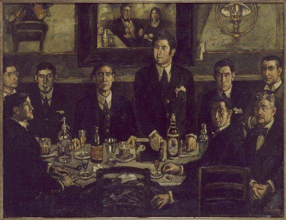 Las tertulias y caf s literarios que inspiraron a los - Pintores en gijon ...