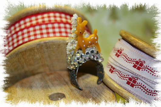 Reindeer Ring Bling