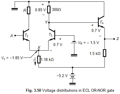 Emitter Coupled Logic Family (ECL) ~ Electronics and