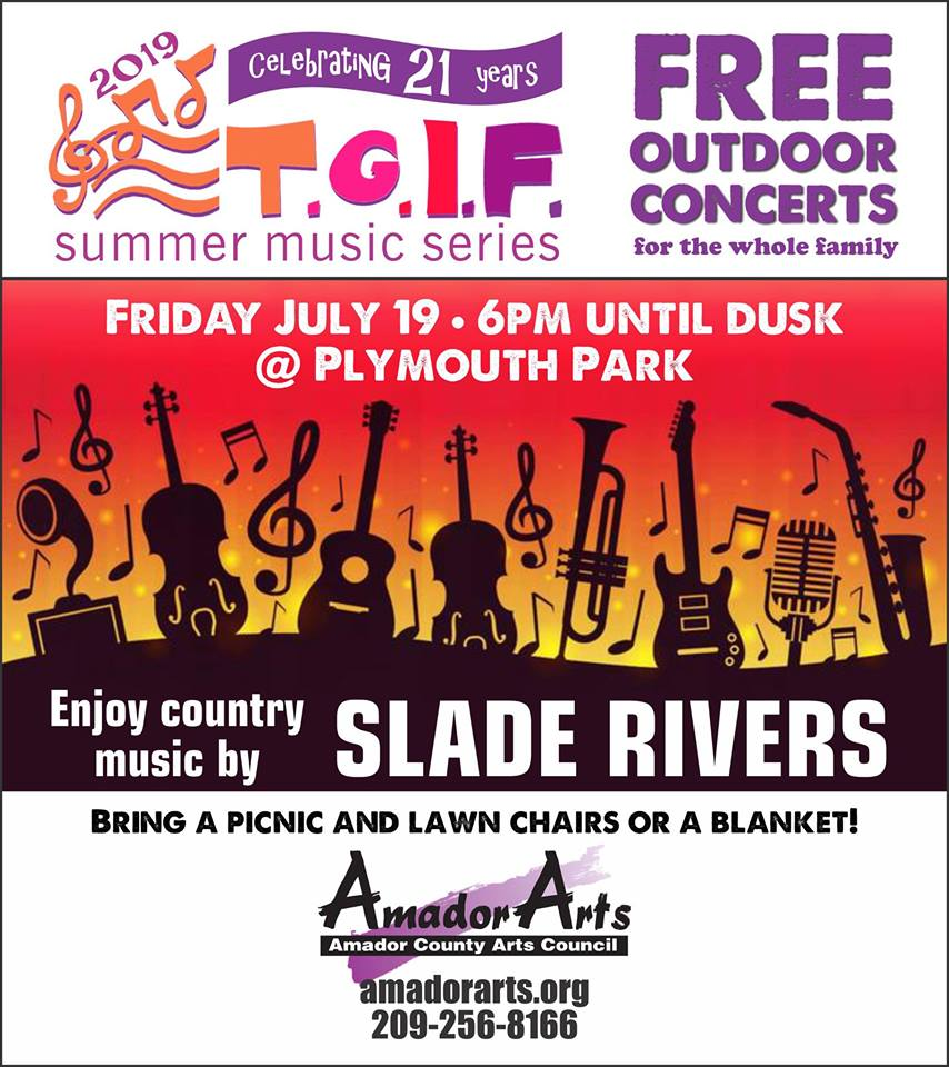 TGIF Concert: Slade Rivers - Fri July 19