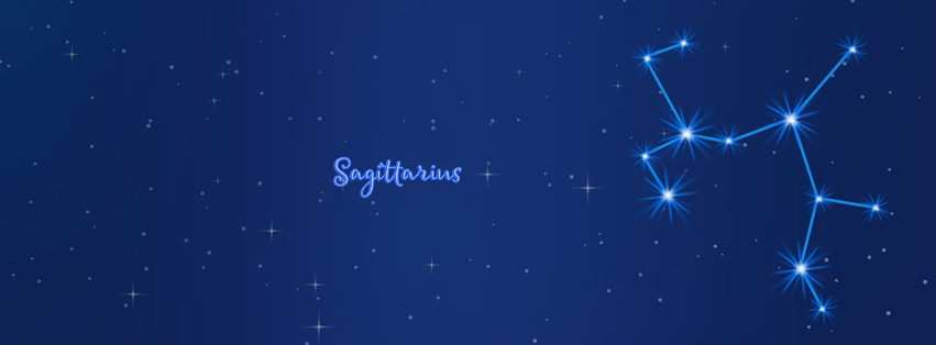 Sagittarius Facebook Cover