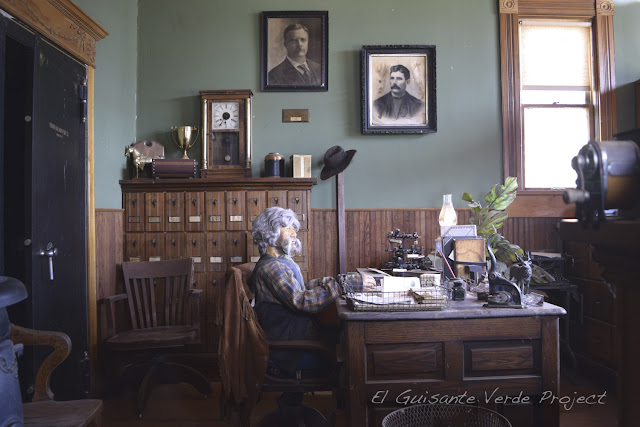 1880 Town - Dakota del Sur, despacho del banco