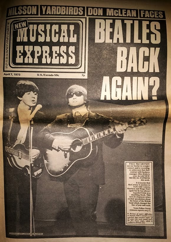 Fin d'histoire pour la version papier du «New Musical Express»