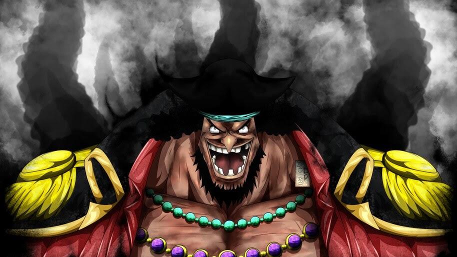 Blackbeard, Marshall D. Teach, One Piece, 4K, #6.3