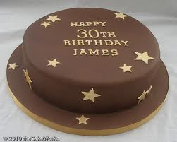 Birthday Cake Pictures 30th Birthday Cake