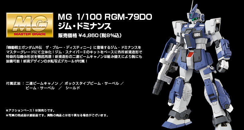 P-Bandai: MG 1/100 GM Dominance