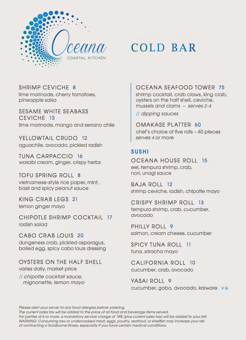 SanDiegoVille: Oceana Coastal Kitchen Now Offering Waterfront Dining ...