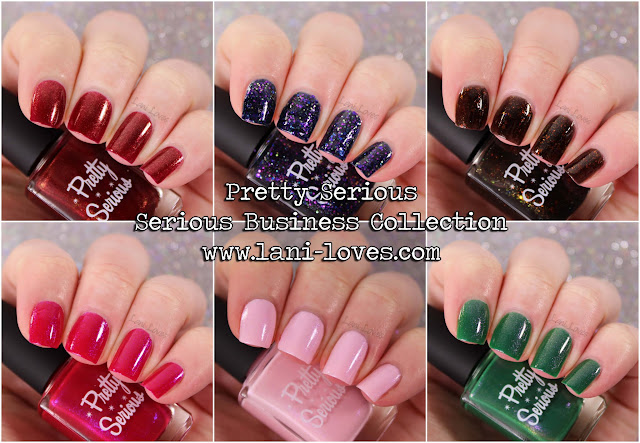 Pretty Serious - Serious Business Collection Swatches & Review