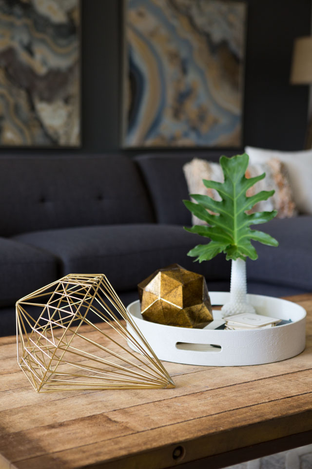 How to incorporate modern geode and gem accents into your decor!
