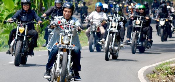 Jokowi Turing Kendarai Chopper, Tokoh Safety Riding: Tak Sekedar Ada, Perlengkapan Harus Berfungsi!