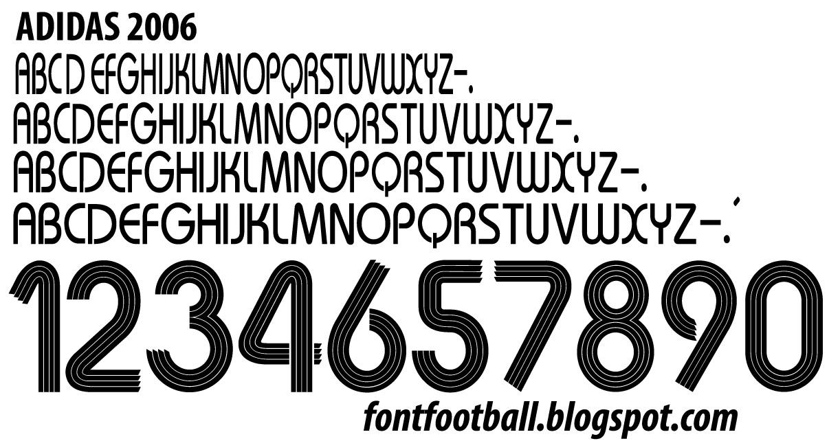 Font Adidas 2006 Free Download - bluealert's blog