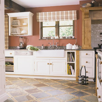 Decoraciones y hogar modernas cortinas para la cocina for Imagenes de decoracion de cocinas