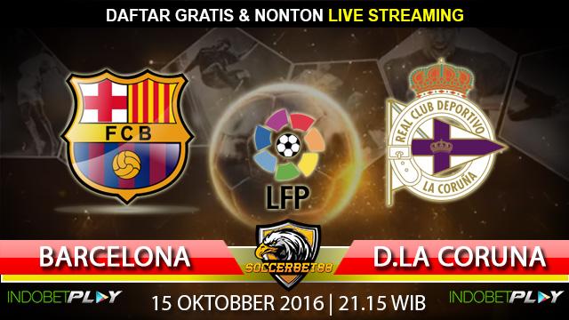Prediksi Barcelona vs D.La Coruna 15 Oktober 2016 (Liga Spanyol)