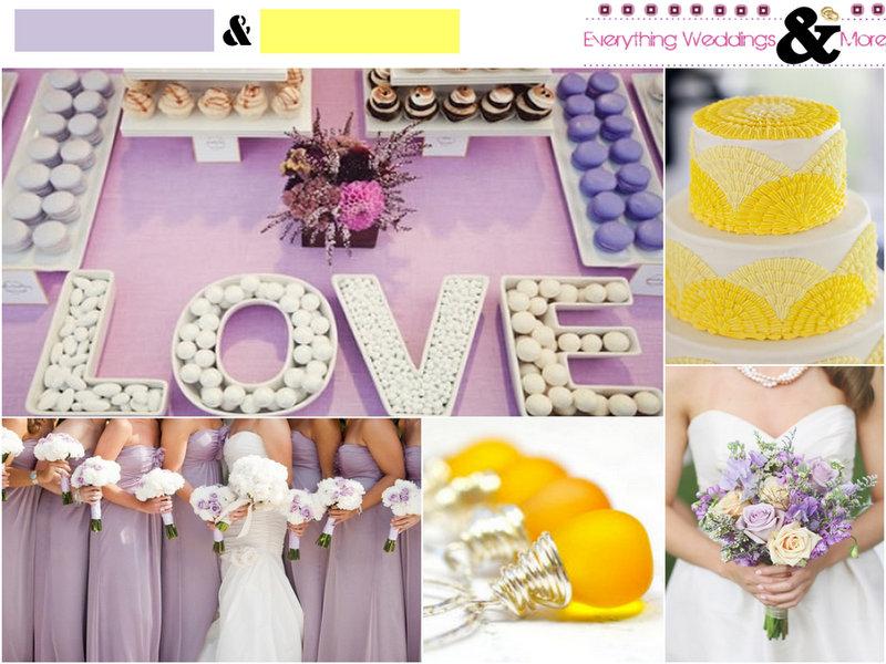 Lavender-Yellow-Color-Wedding