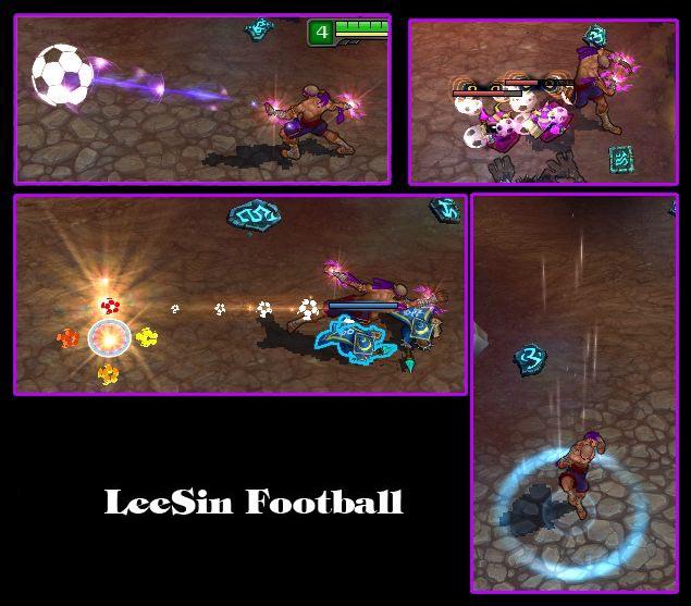 Mod Skin LeeSin Football