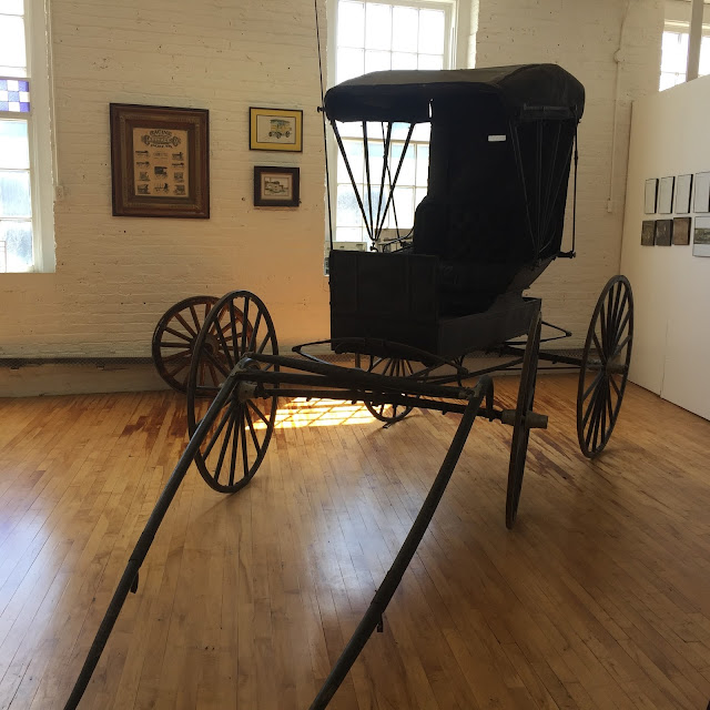 Racine Carriage and Coach once manufactured carriages in the 16th Street Studios building