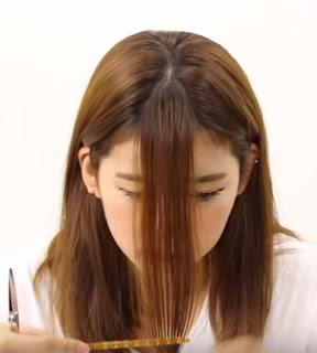 cara memotong rambut sendiri 1