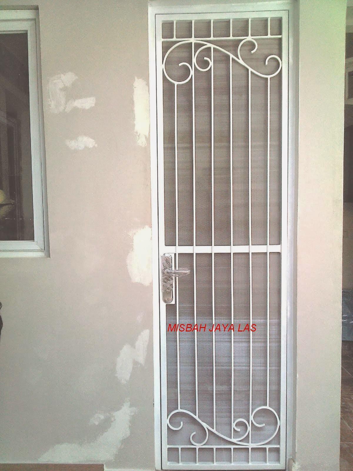 pintu kasanyamuk besi Bsd