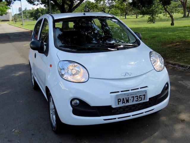 Chery QQ x Renault Kwid - consumo