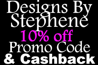 Designs By Stephene Promo Code February, March, April, May, June, July 2016