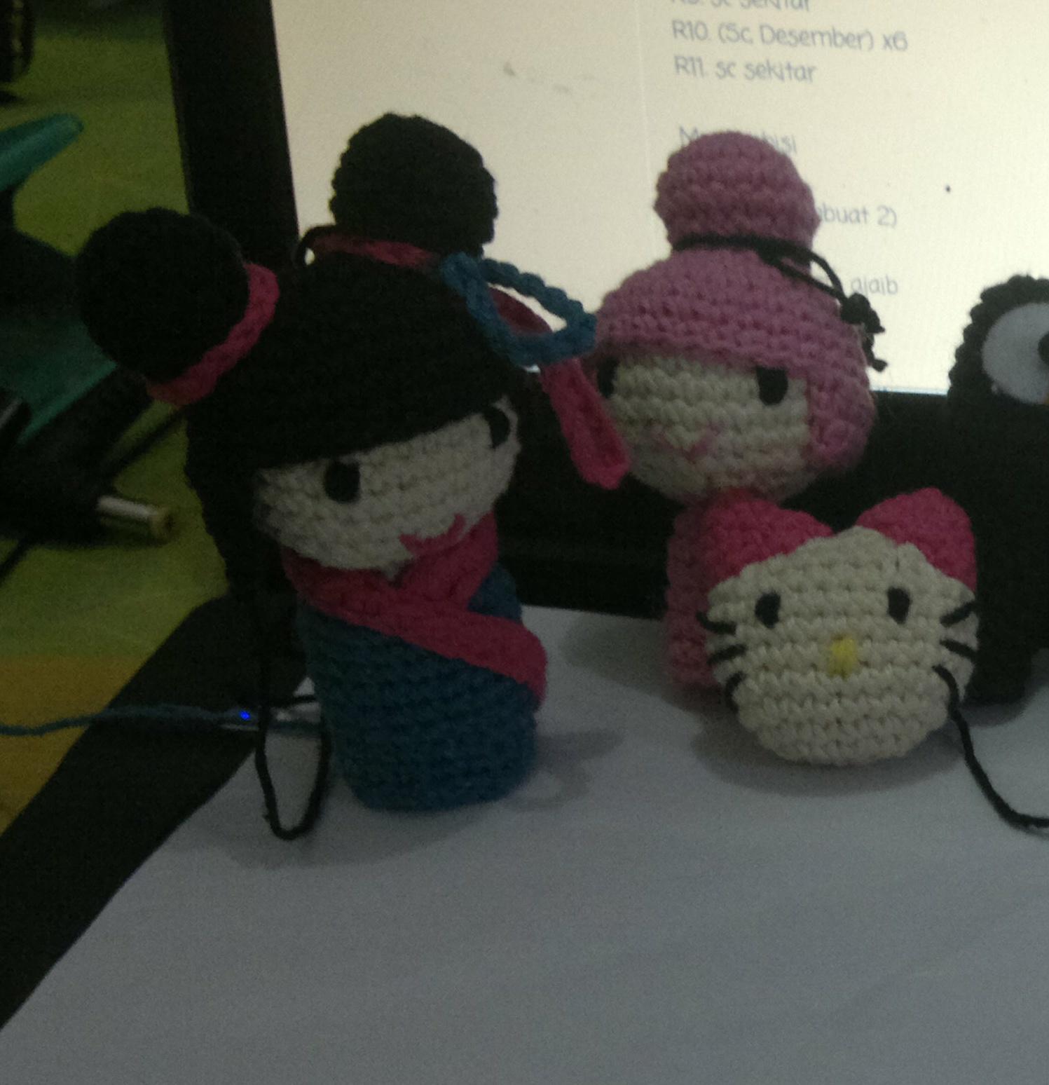 Horgolt Hello Kitty figurák - Színes Ötletek Blog | 1548x1497