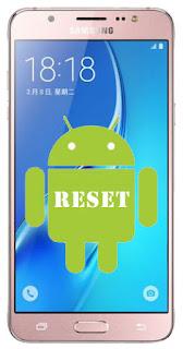 Cara Reset Ulang Samsung J7 Lupa Kunci