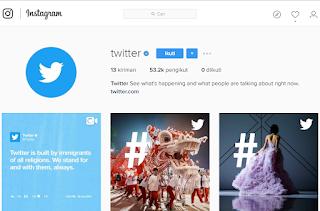 Akhirnya! Twitter Buka Akun Instagram
