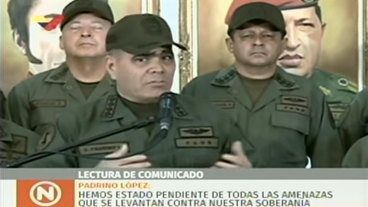 Contundente respuesta del ministro de Defensa de Venezuela a Donald Trump