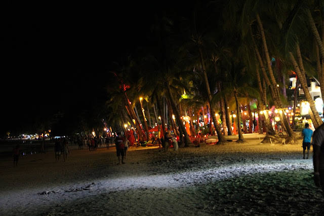 night life in boracay